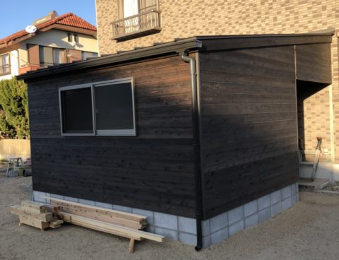 倉庫の新築